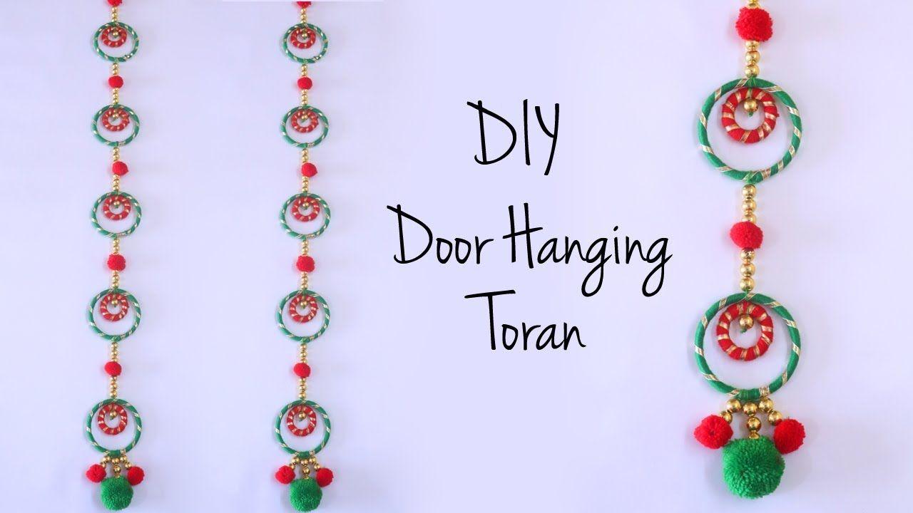 Door Hanging Toran Diwali Decoration Ideas Bandhanwar Making