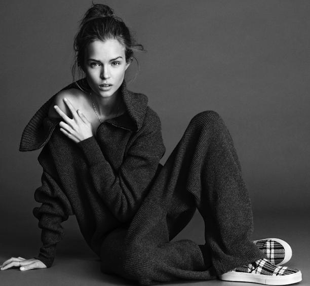 TARTAN PLAID EDITORIAL CELINE STELLA MCCARTNEY ELLE Sweden  Model: Josephine Skriver  Photographer: Jimmy Backius Styled by: Josephine Aune ...