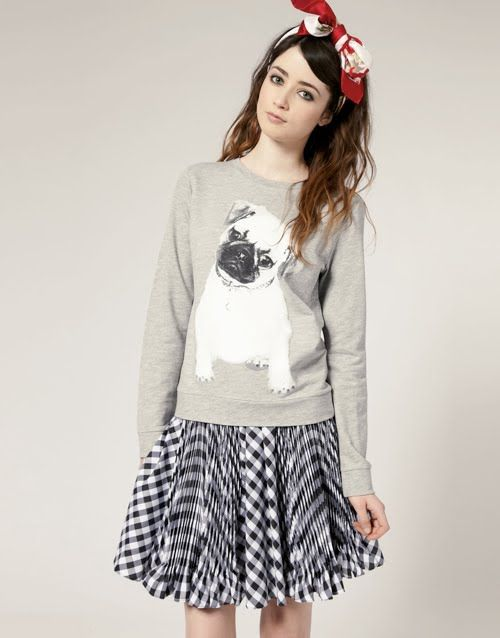 think it may be time to get a pug sweatshirt...this is a cute one! :))))