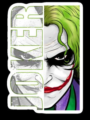Joker Sticker Decal Aesthetic Stickers Print Stickers Joker Drawings