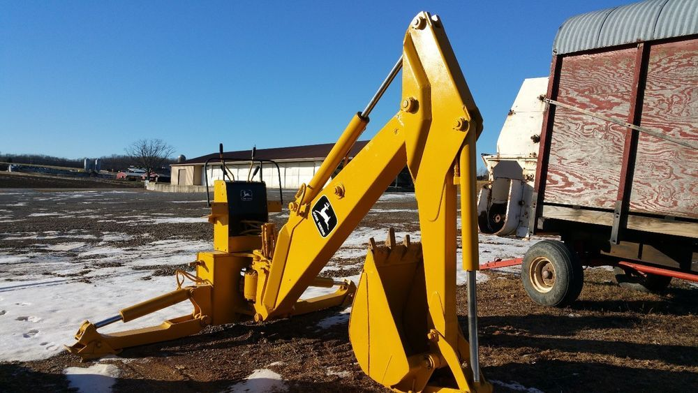 John Deere 9300 Backhoe Attachment Fits 455G and Comparable