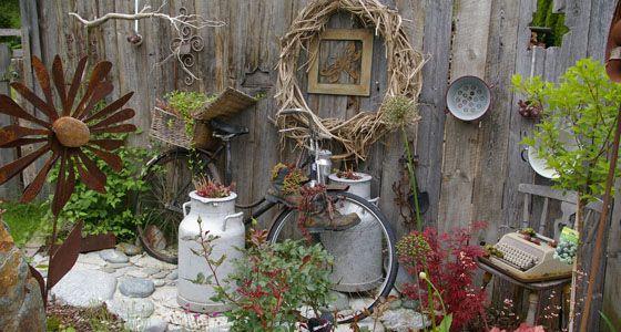 zum wegwerfen zu schade: alte dinge in neuem glanz | deko und garten, Garten und erstellen