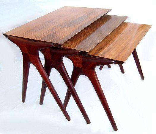 Vladimir Kagan Nesting Tables. Nesting TablesPaul EvansMid Century ...