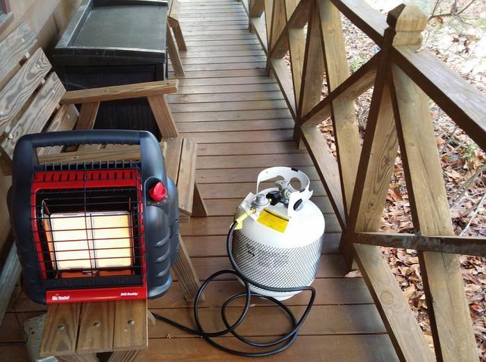 Mr Heater Big Buddy Indoor Outdoor Propane Heater 18 000