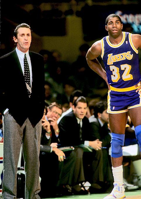 2b5f450e8 Pat Riley and Magic Johnson