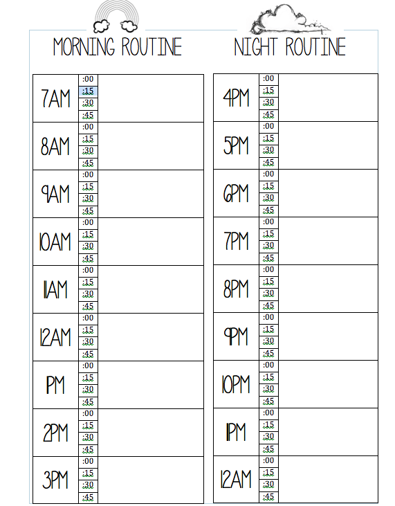 Cfa study schedule planner