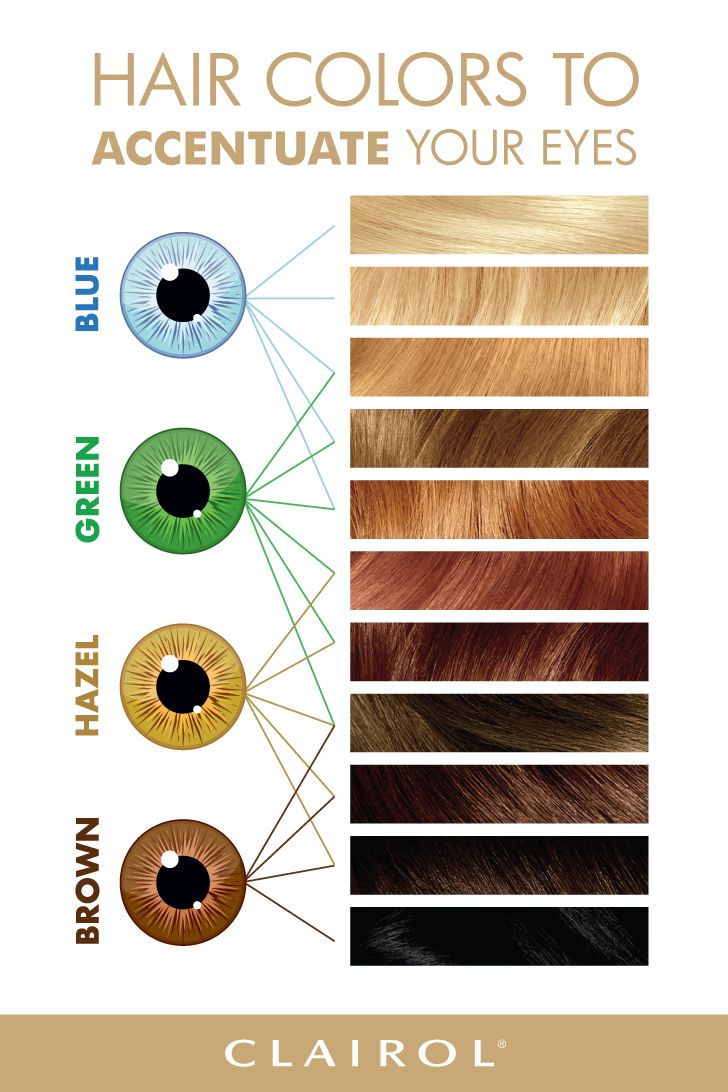 Hair color to match your eyes 👀