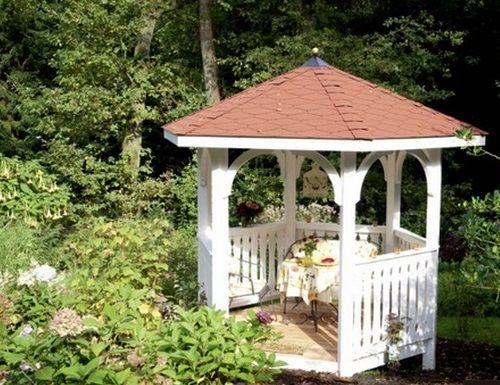 Pavillon de Jardin en Bois Nancy Epaisseur Poteaux 12 cm ...