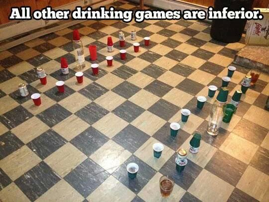 The greatest of drinking games