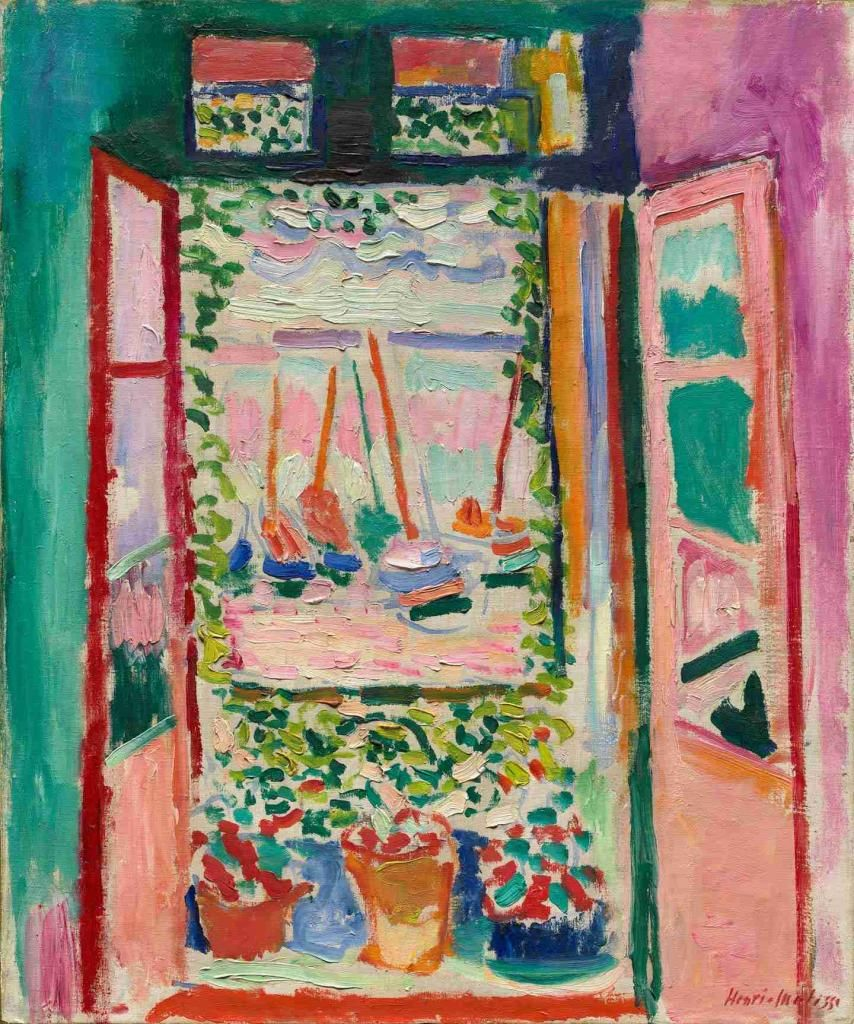 henri matisse fen tre ouverte sur collioure t 1905. Black Bedroom Furniture Sets. Home Design Ideas