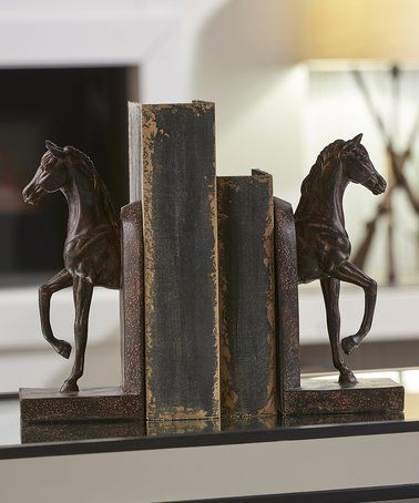 another great find on zulily horse bookend set of two