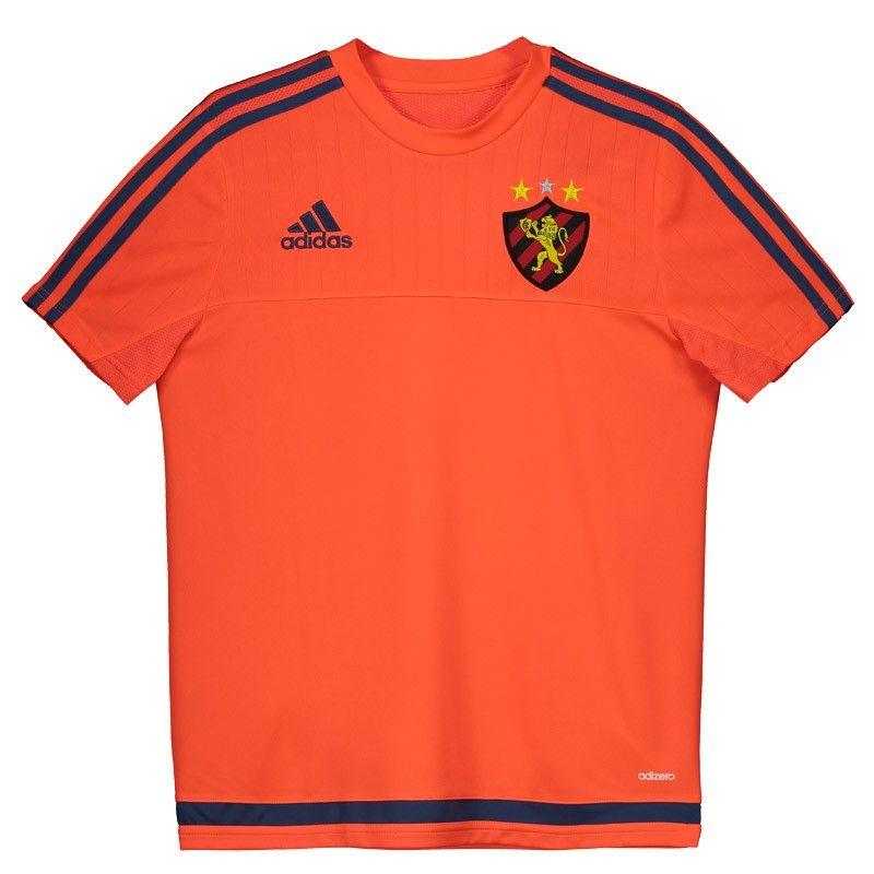 Camisa Adidas Sport Recife Treino 2016 Laranja Juvenil Somente na  FutFanatics você compra agora Camisa Adidas Sport Recife Treino 2016  Laranja Juvenil por ... 159c022dc4610