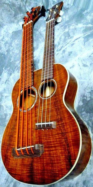 pin by uke company on unique ukes ukulele bass ukulele guitar. Black Bedroom Furniture Sets. Home Design Ideas