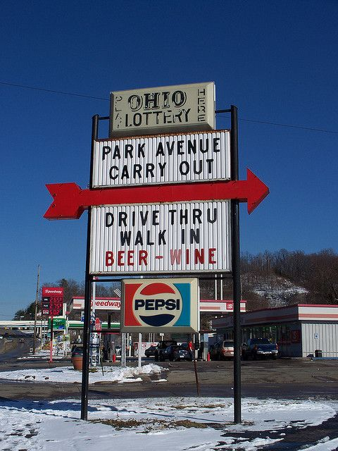 Oh Ironton Park Avenue Carry Out Park Avenue The Buckeye State Ohio River