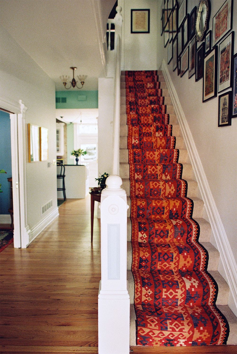 Awesome Runner Over Bland Carpet. A Victorian Home With Countless Treasures  In Denver, CO