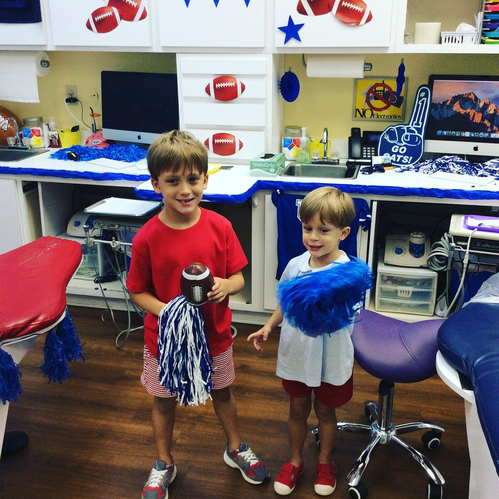 GO BLUE!!! titans cats Go blue, Pediatric dental, Lily