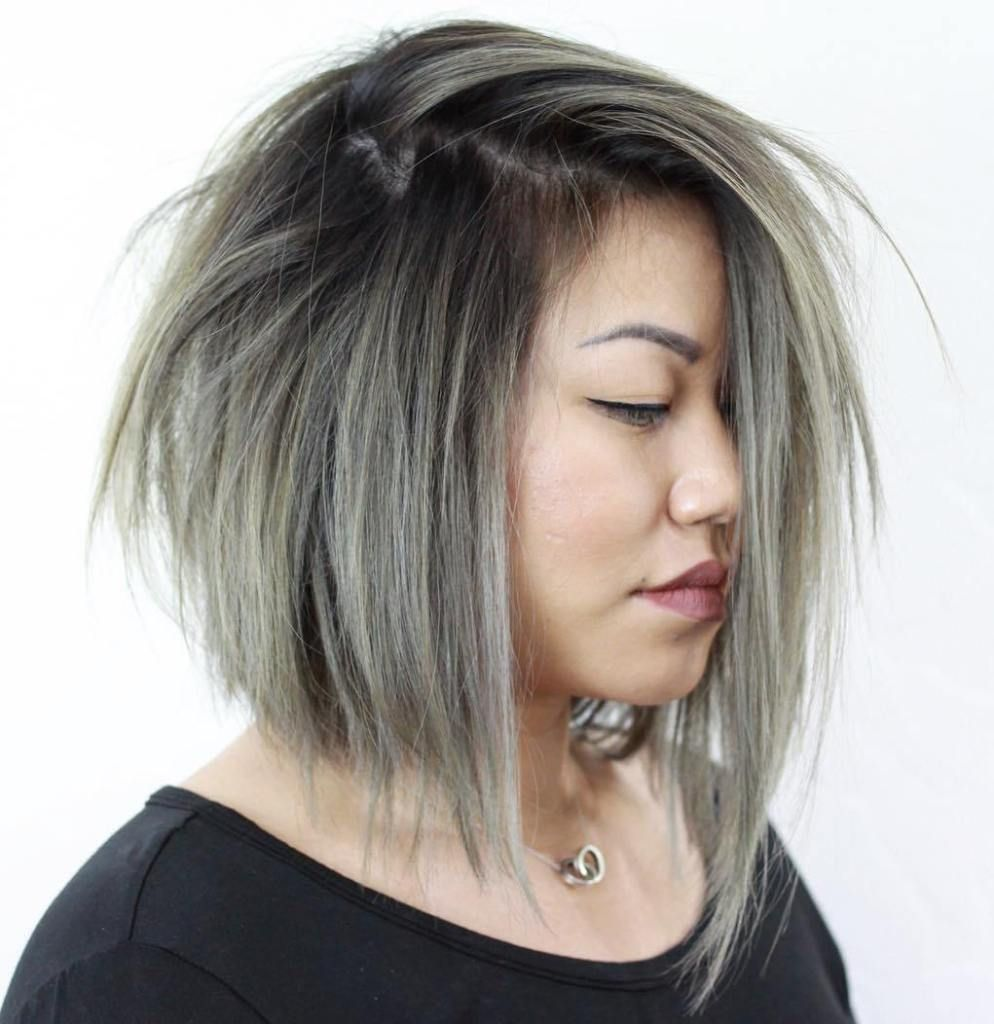 Top flattering hairstyles for round faces hair pinterest