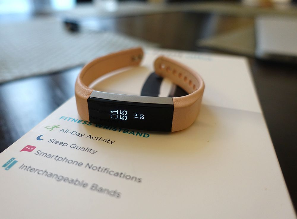 A review of the fitbit alta fitness tracker including