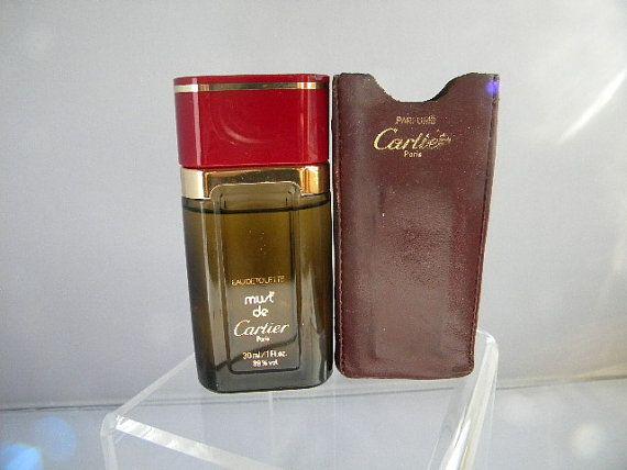 Vintage Must De Cartier Ligne Voyage Perfume By Cartier For Women