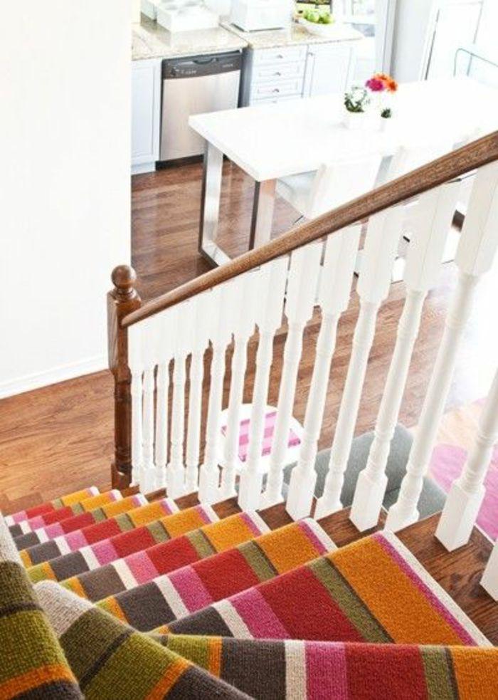 Tapis Pour Escalier Color Escalier Design En Bois Intrieur
