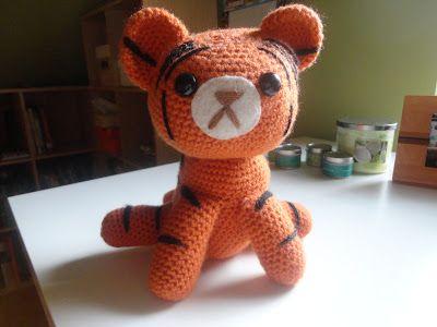 CROCHET - TIGER / TIGRE / TIJGER - FREE - tiger free crochet pattern ...