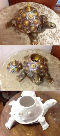 Черепаха-повторюшка   Страна Мастеров