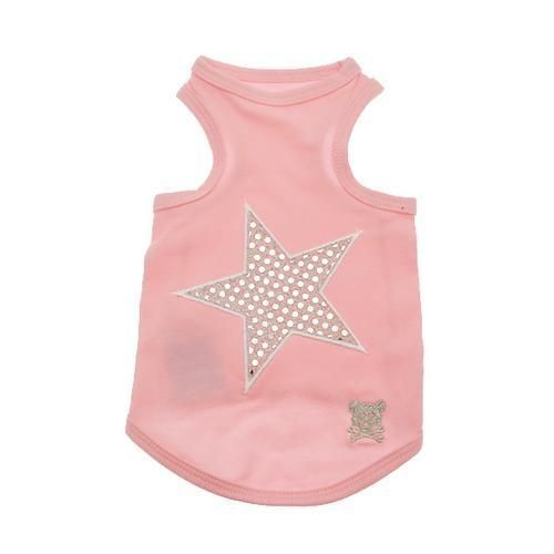 7d243eaedbf Shining Star Dog Tank Top - Pink | Shining star, Dog and Star