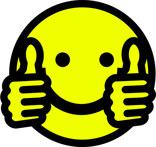 Clip Art Thumbs Up Smiley Thumbs Up Smiley Clip Art Vector Clip Art Online Royalty Free Smiley Cartoon Smiley Face Thumbs Up Smiley