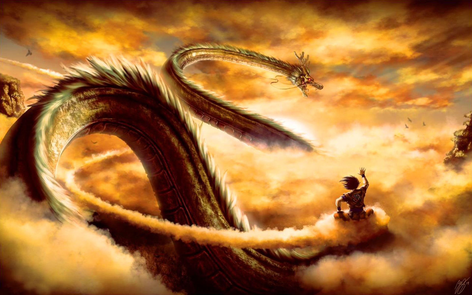 Free Dragon Ball Z Dragon Shenron puter desktop wallpapers