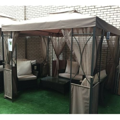 Tent Gazebo Canopy 2 5x2 5 Marquee Party Garden Camping Outdoorratioshadesunyard Gazebo Canopy Gazebo Canopy