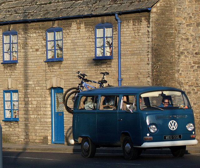 Blue Vw Photo Sharing Blue Bike