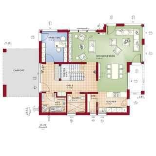 concept m m nchen mod classic v2 bien zenker fertighaus haus house house design und. Black Bedroom Furniture Sets. Home Design Ideas