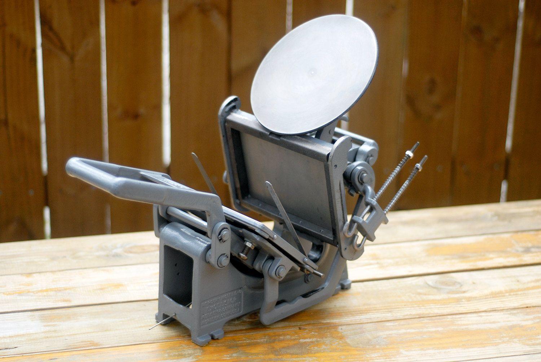 Kelsey Excelsior 5X8 Model U Tabletop Printing Press Vintage Hand Print Machine For Letterpress 60000 Via TheHappySkull