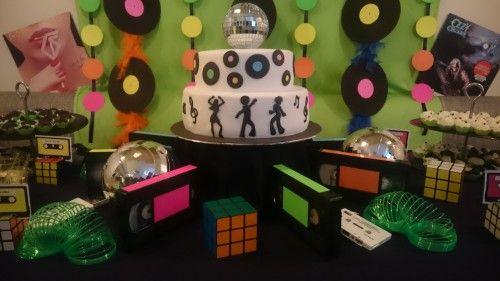 decoracion fiesta a os 80 buscar con google decoraci n