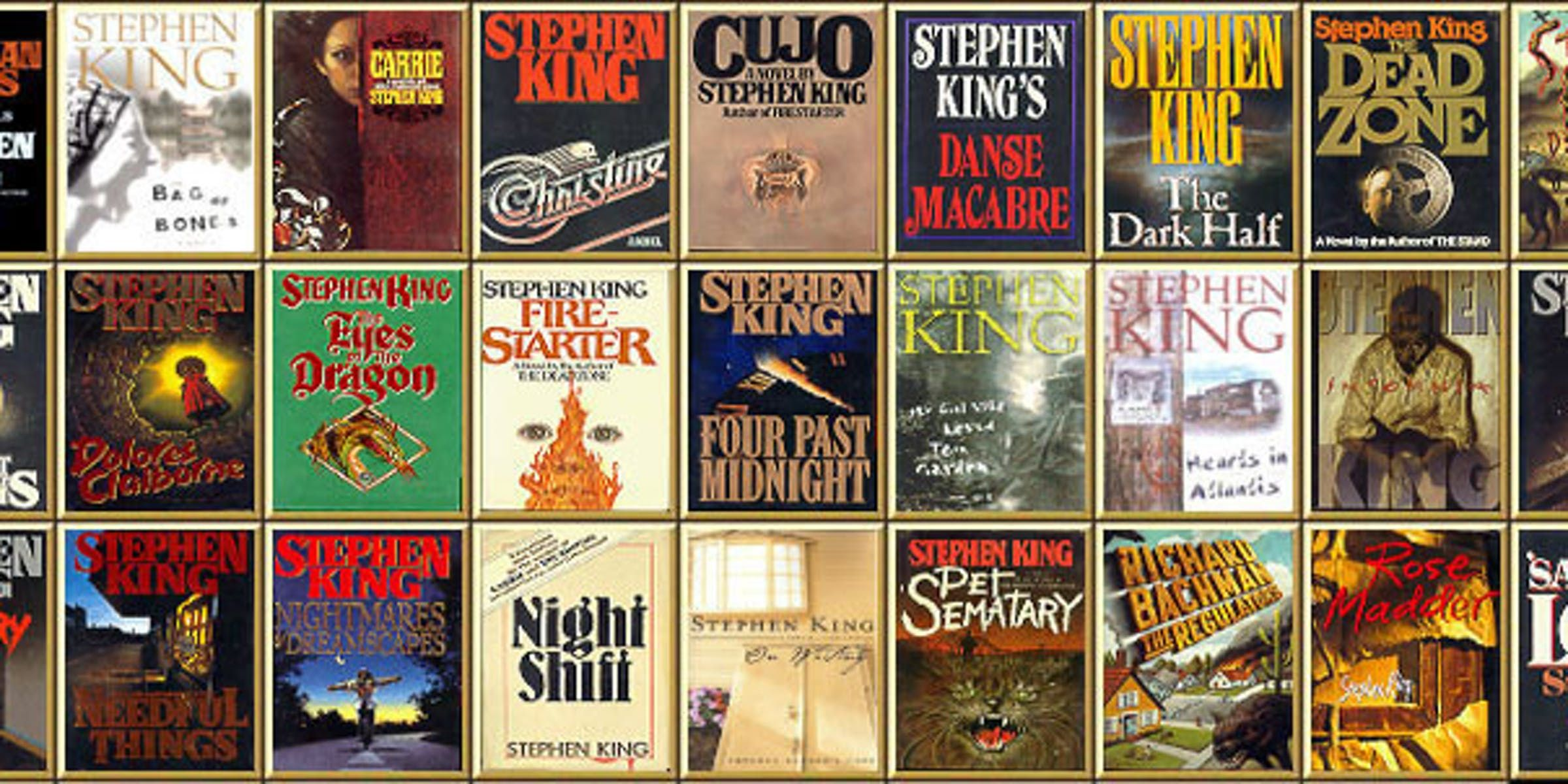 Stephen King For Beginners Which Stephen King Novels To Read
