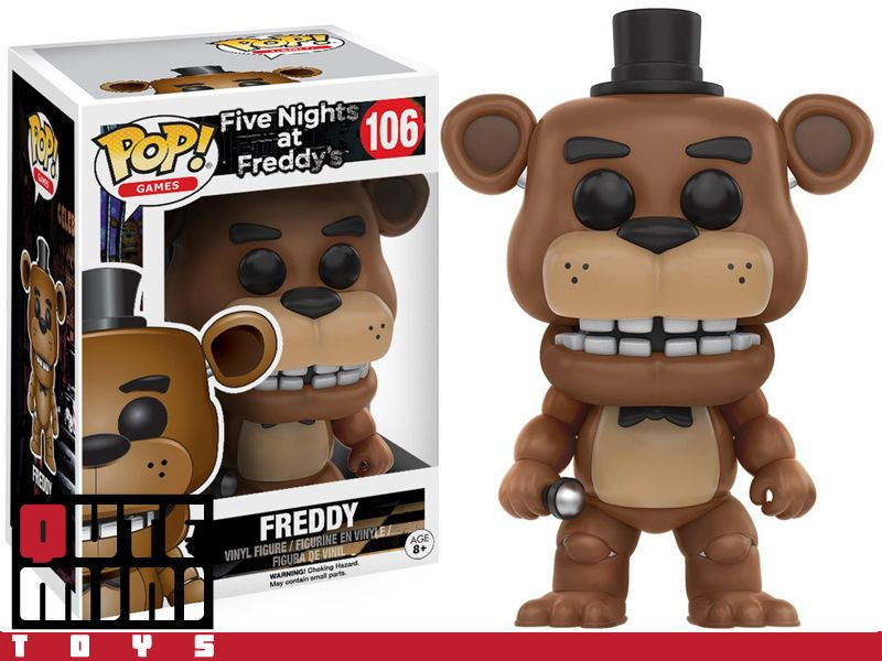 colecci/ón de Pop seria FNAF 11029 Funko- Freddy Figura de Vinilo