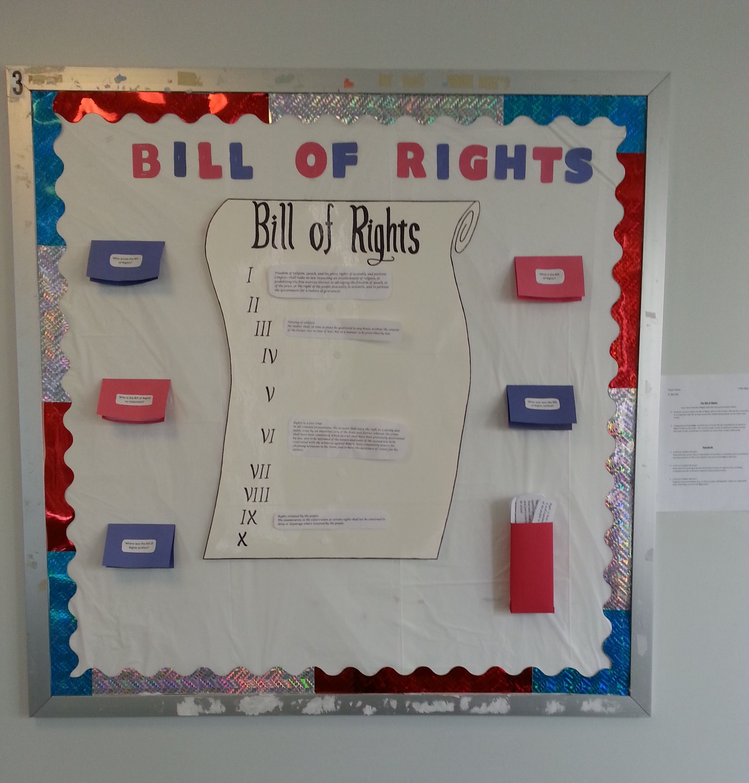 United States Bill of Rights is Ratified