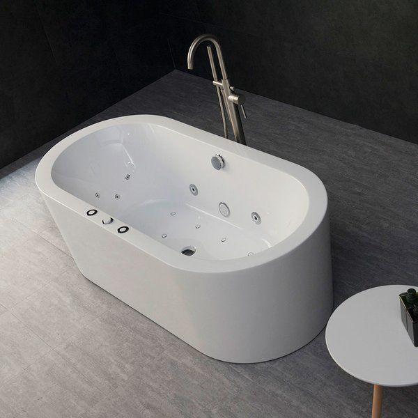 67 X 32 Freestanding Combination Bathtub Bathtub Navy