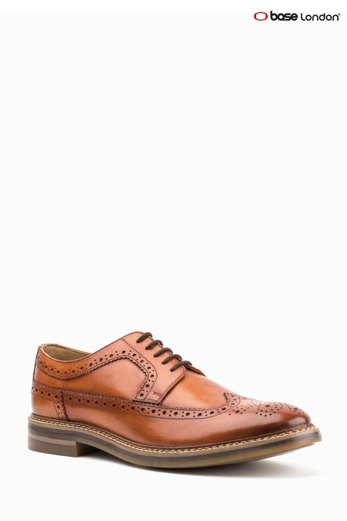 Mens Base London Leather Shoes /'Barcelona/'