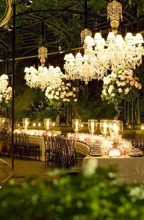 Outdoor Entertaining Inspiration Candlelight And