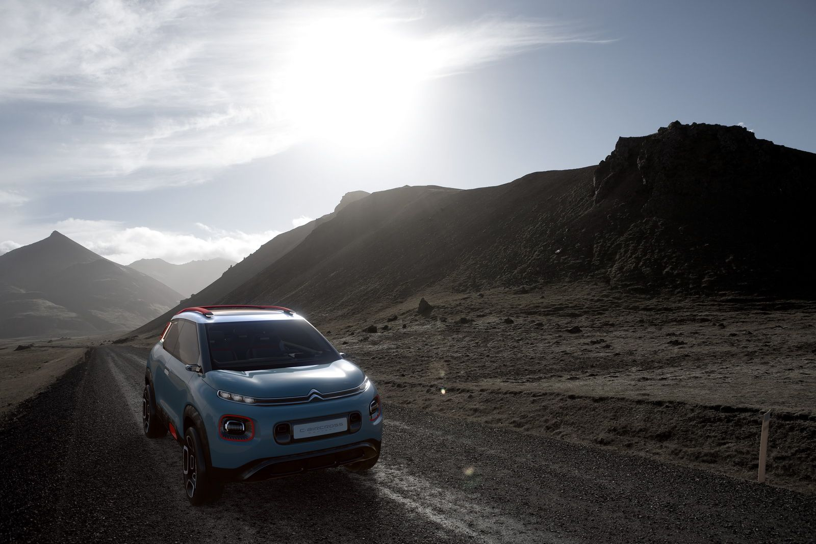 Citroen C-Aircross Concept Previews Next-Gen C3 Picasso