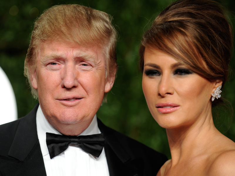 Donald Trump Wife Melania Says Shes Offering Her Husband -8102