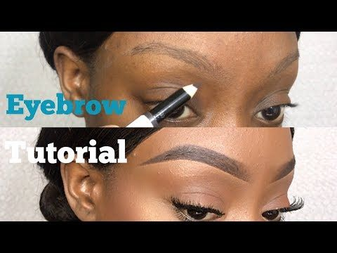 52d3098cc2a EASY EYEBROW TUTORIAL (UPDATED) FOR VERY THIN & SPARSE BROWS + TIPS FOR  OILY BROWS - YouTube
