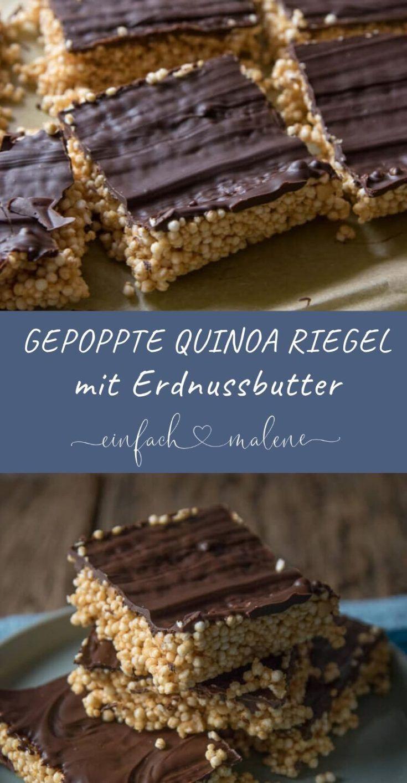 Gesunder Snack für zwischendurch - Quinoa Riegel selber machen