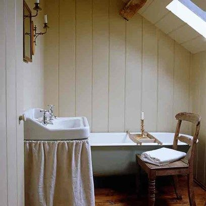 Panelling In Small Country Bathroom  Small Country Bathrooms Gorgeous Small Country Bathroom Design Inspiration