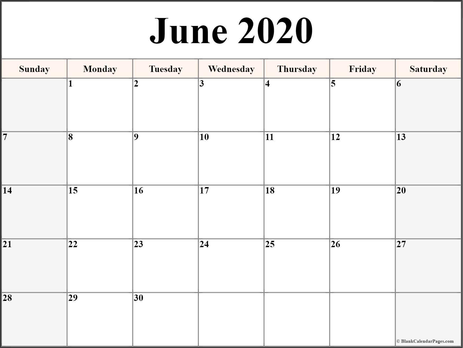 Printable Free Calendar 2020 Di 2020 Dengan Gambar