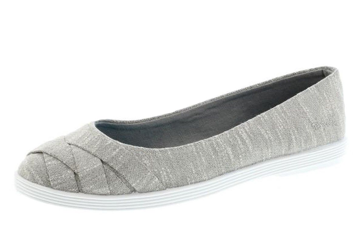 12aec3332e8bc7 Blowfish Glo 2 Heather Grey New Jersey Flat Ballet Shoes. Need these in  grey and black!