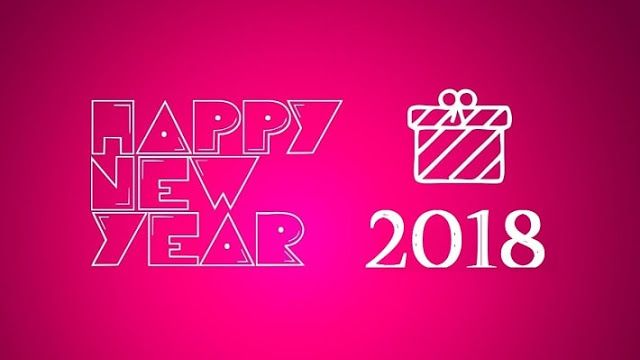 Happy New Year 2018 GIF Images | Happy New Year Wallpapers ...