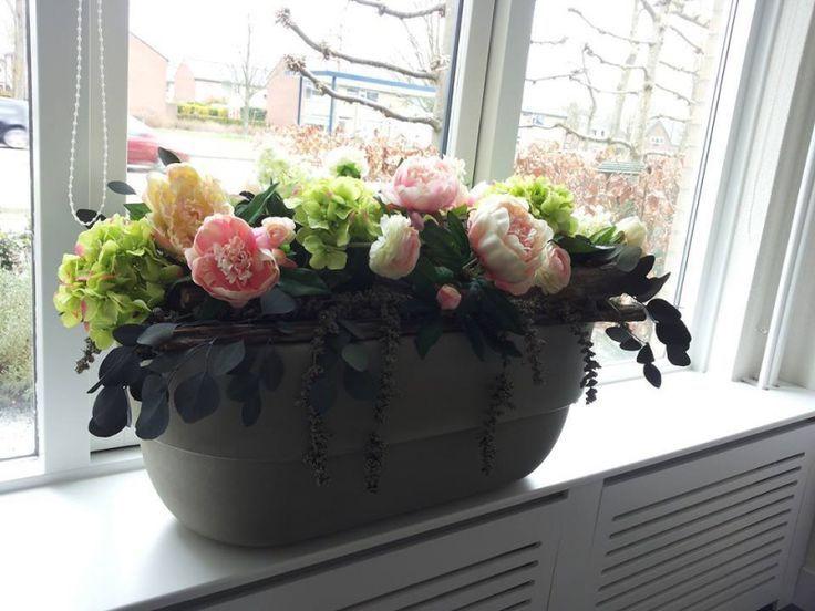 Afbeeldingsresultaat voor vensterbank decoratie modern for Decoratie vensterbank