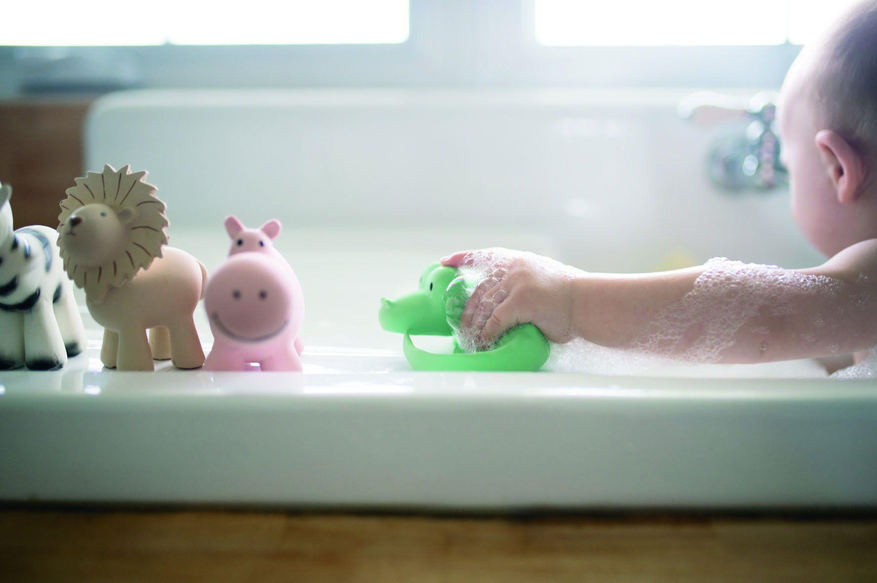lion natural rubber rattle ecru | eco | kids toys, wooden